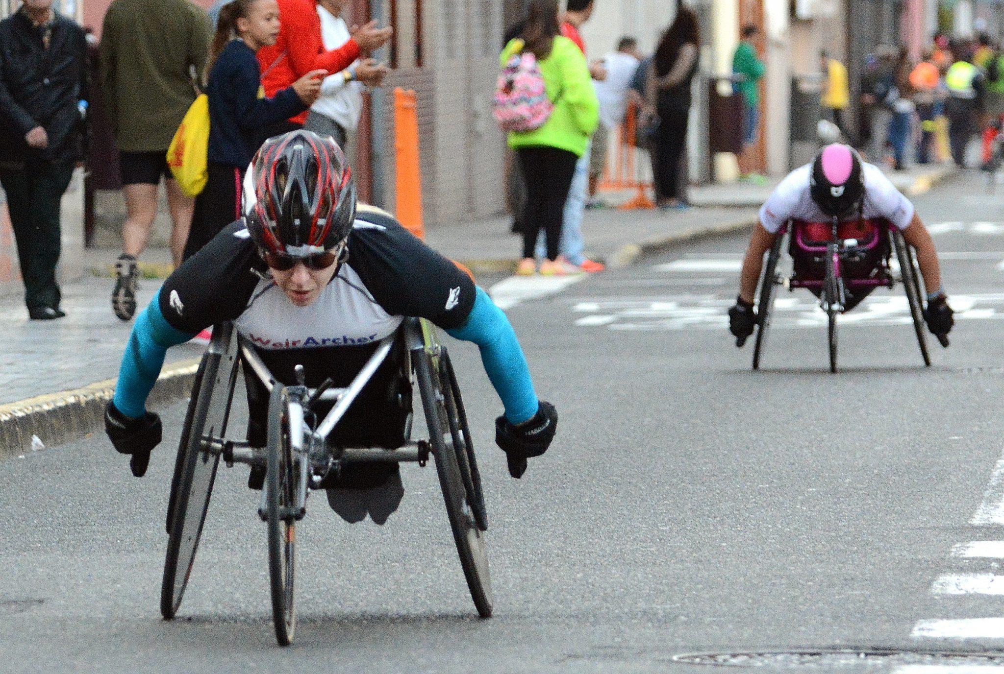 Carrera para personas con discapacidad