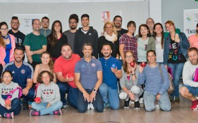 Comienza su andadura la Escuela Insular de Gran Canaria de Deporte Adaptado