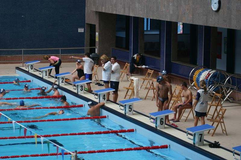 Bronce en natación: Federación canaria DPD