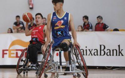 Bronce para el econy en el Campeonato de España de base de basket de silla ruedas