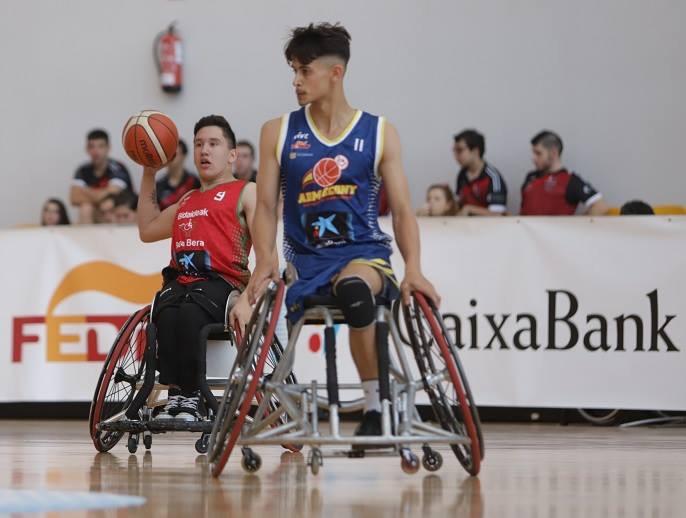Yaisen Ojeda-Deurvan, jugador del Econy Gran Canaria Accesible