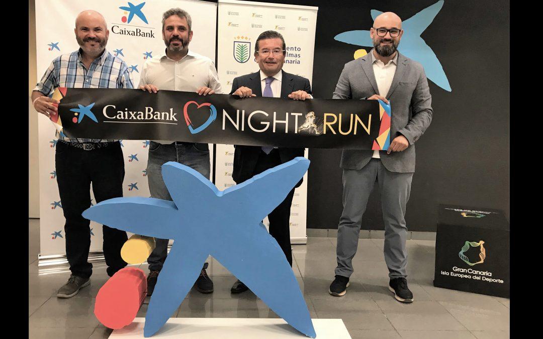 La Hospitales San Roque LPA NightRun y CaixaBank fomentan el deporte inclusivo