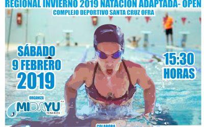 I Campeonato Regional de Invierno de Natación Adaptada (OPEN)