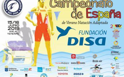 Comienza el Campeonato de España Absoluto por Clubes de Natación Adaptada 2019 Fundación DISA